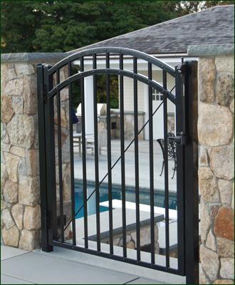 Iron Gates Ornamental Iron Gate Designs