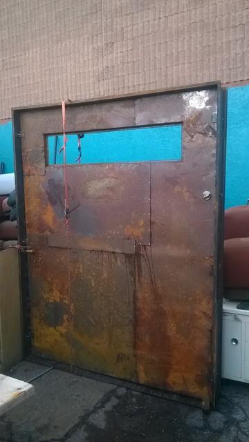 Industrial Front Doors : Industrial metal door front doors phoenix
