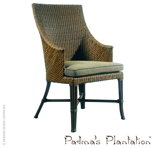 Padma s Plantation Palm Beach Outdoor Dining Chair Modern Outdoor Din