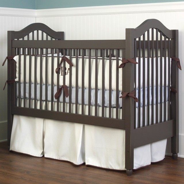 Cottage Baby Crib Traditional Cribs New York By