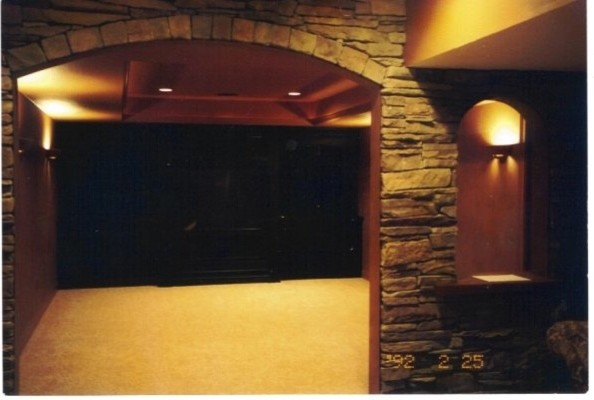 Projects done by DMR Construction 317-674-5030 traditional-basement
