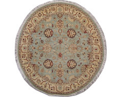 Round Rugs contemporary-carpet-flooring