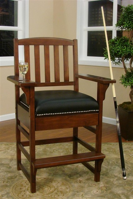 King Billiard Game Room Chair Contemporary Furniture