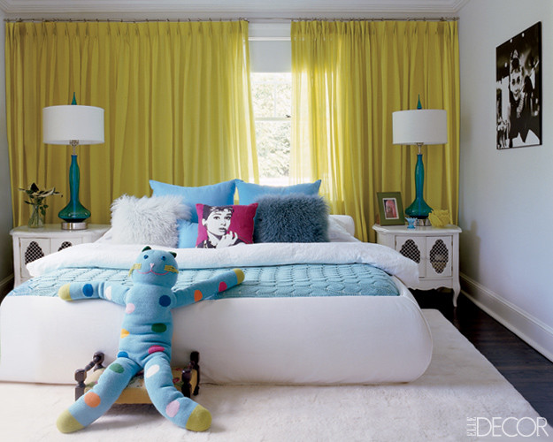 Teen bedroom by Elle Decor eclectic