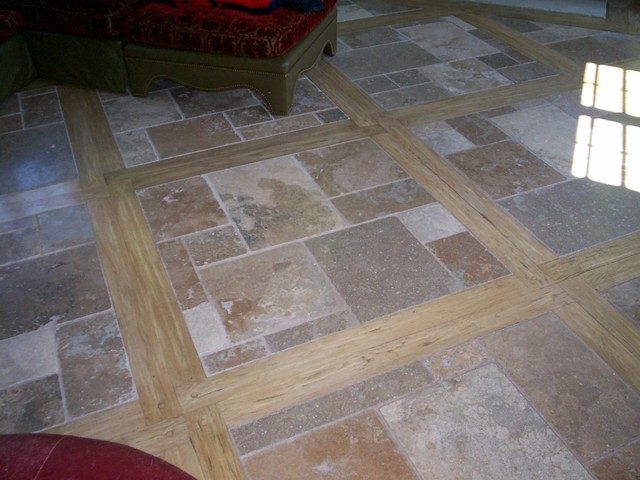 Travertine Tile Mediterranean Wall And Floor Tile