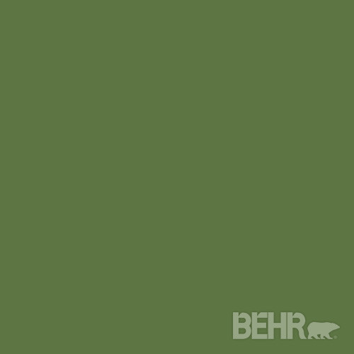 BEHRu00ae Paint Color Dill Pickle 420D-7 modern-paint