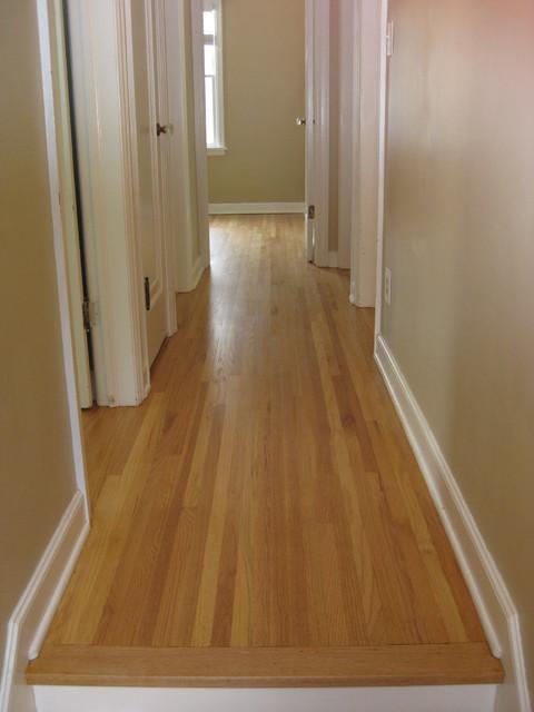 Red oak natural for Naturally oak flooring