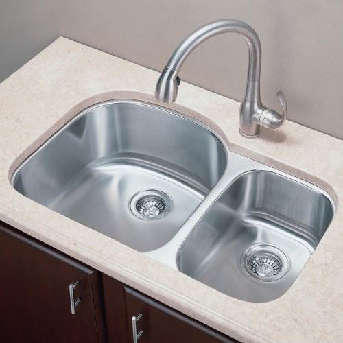 Traditional Kitchen Sinks : ... Bowl Undermount Stainless Steel Kitchen Sink traditional-kitchen-sinks
