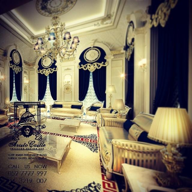 Luxury villas in dubai modern other metro by aristo for Modern home decor dubai