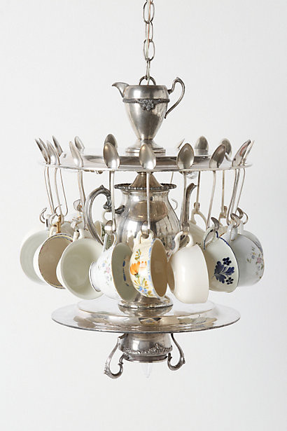 Tea Time Chandelier eclectic-chandeliers