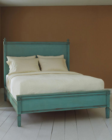 Swedish Bed, Robin's Egg Blue traditional-beds
