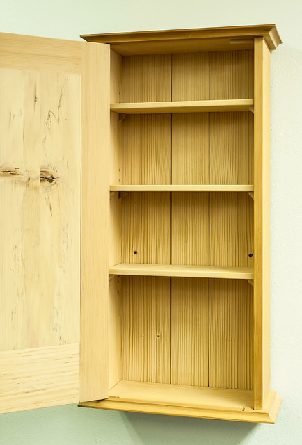 Eastern Mentor One-Of-A-Kind Wall Cabinet - Eclectic - Medicine Cabinets - denver - by A&E Fine ...