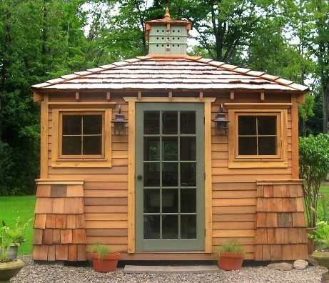 The Chatauqua traditional-sheds