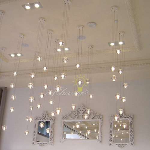145 Five Pendant Chandelier