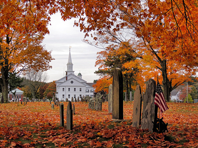 Autumn Scenery - Traditional - boston - by Photography by Janice Drew