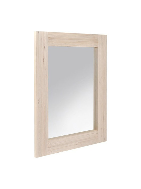 Large Mirror - Admire the results of your home spa day in this large mirror by Welsh designer Deborah Elsaesser. It's handmade from 100-percent recycled plywood off-cuts sourced from local boat builders, kitchen makers and colleges. And it's not just ecofriendly, but adds lovely minimalist style to the room too.