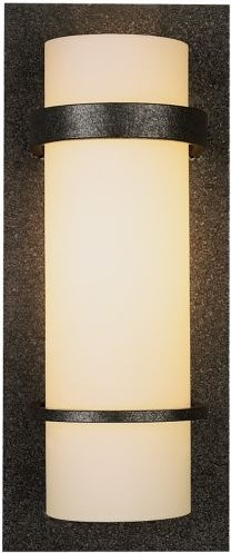 Banded Wall Sconce with Glass contemporary-wall-lighting
