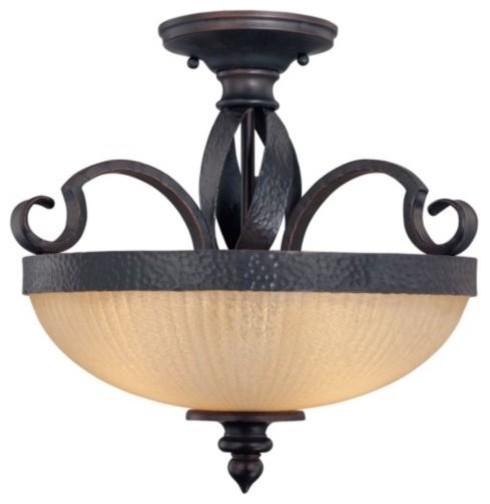 Carmel Semi-Flushmount traditional-ceiling-lighting