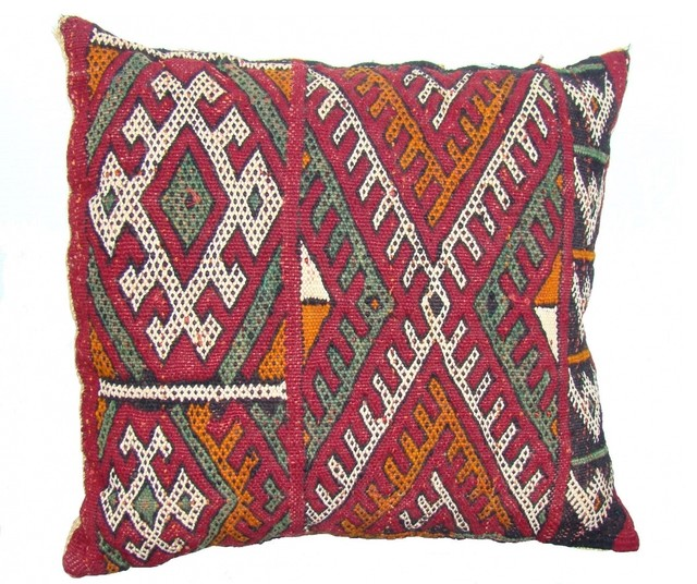 Throw Pillows Malum : Moroccan Berber Pillow - Eclectic - Decorative Pillows - new york - by Second Shout Out