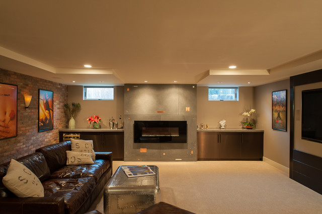 Residential Architecture contemporary-home-theater