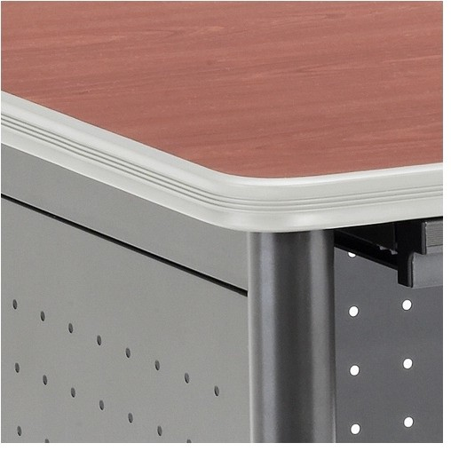 Executive Series Computer Desk with Pencil Drawers modern-home-office-products