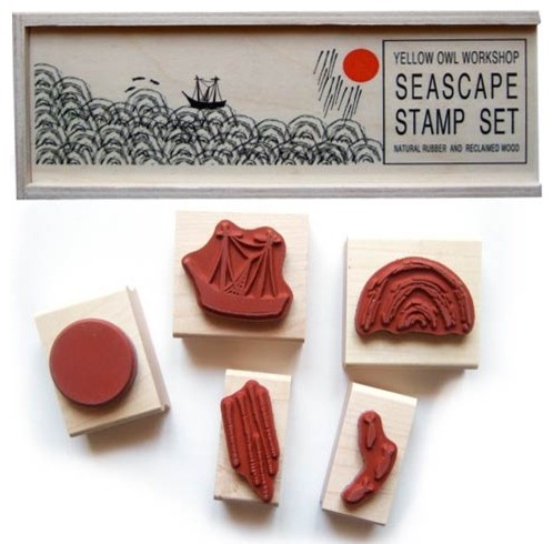 Seascape Stamp Set traditional-kids-toys-and-games