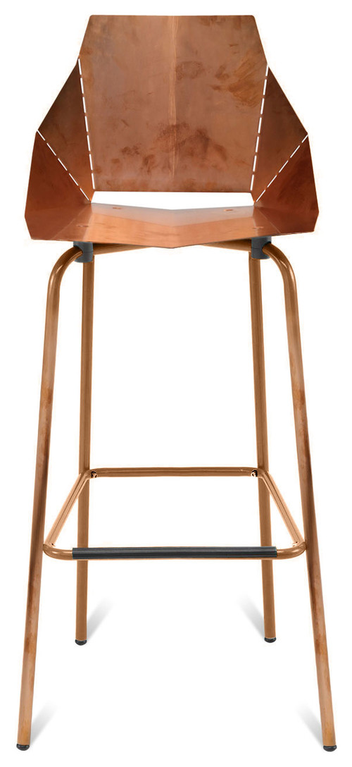 Does this copper barstool come in a chair : modern bar stools and counter stools from www.houzz.com size 500 x 1088 jpeg 79kB
