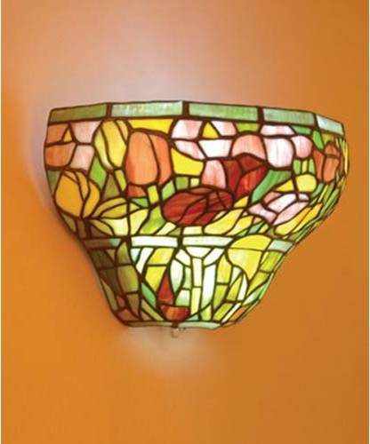 Wall Sconces Stained Glass : Wall Sconces Stained Glass Home Decoration Club