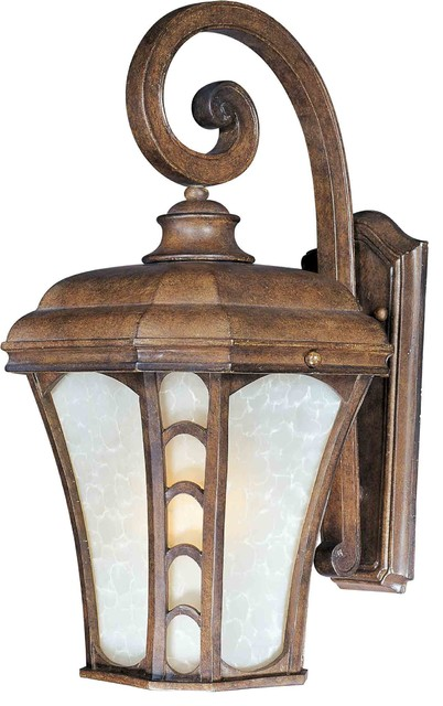 Maxim Lighting 40184LTAP Lake Shore VX Antique Pecan Outdoor Sconce mediterranean-outdoor-lighting