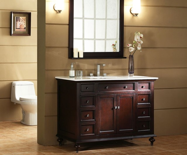 Xylem bathroom vanities traditional bathroom vanities and sink consoles los angeles by for Traditional style bathroom vanities