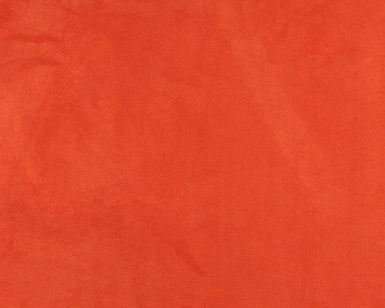 C069 Orange Microsuede Fabric By The Yard -