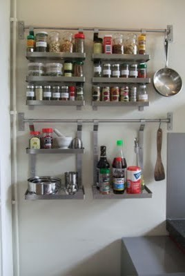 IKEA Kitchen shelving . - Modern - san francisco