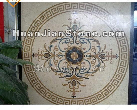 indoor/outdoor wall, floor, bathroom, kitchen and bedroom, etc. - Inlay mosaic medallion for flooring decoration - Art design and decoration!!!