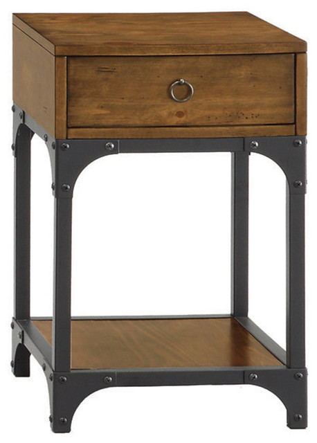 Stelco Accent Table industrial-side-tables-and-end-tables