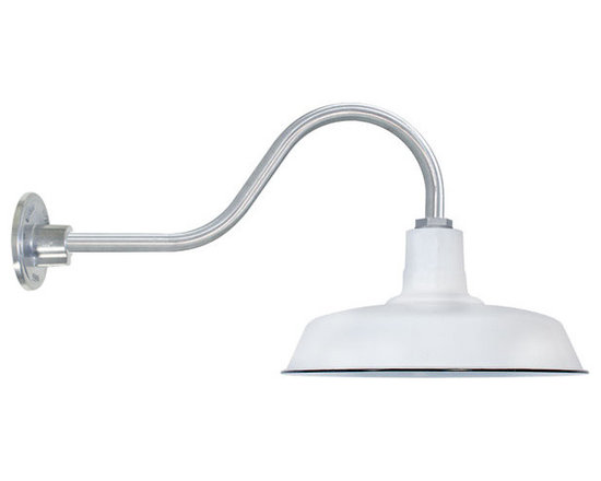 Goodrich® Sky Chief Porcelain Gooseneck Light -