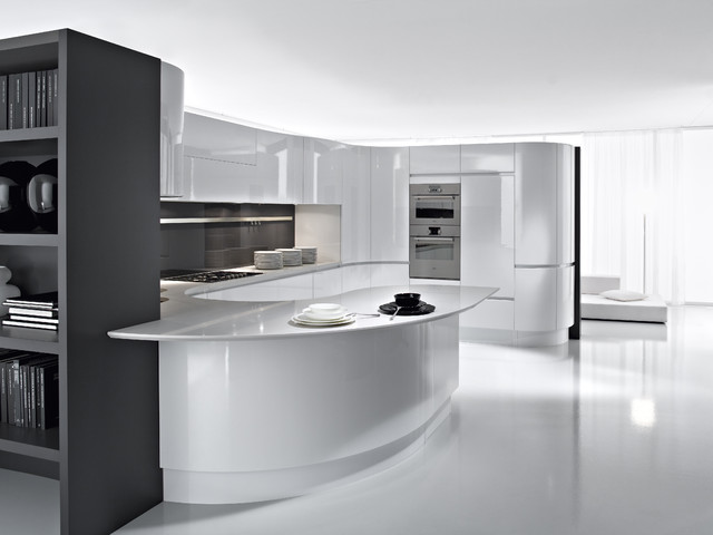 Pedini cucine artika kitchen cabinetry other metro for Cocinas ultramodernas