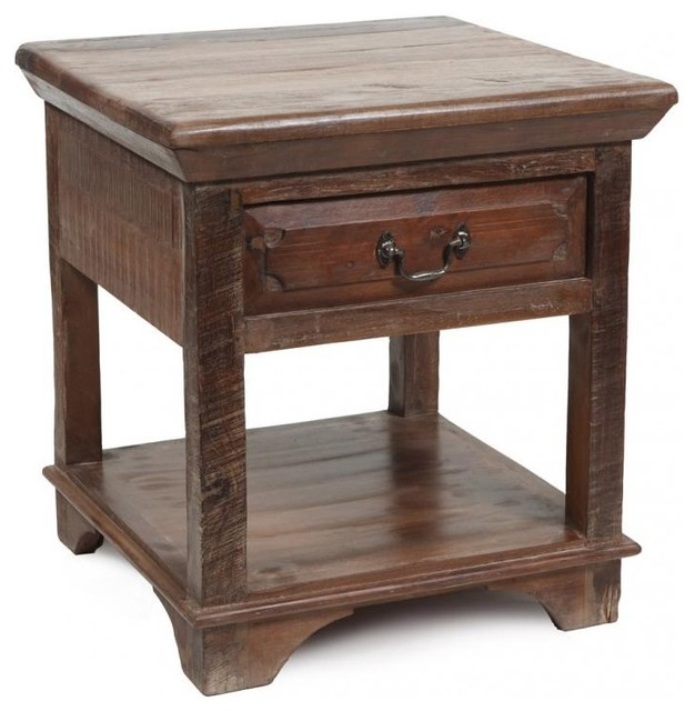 Cambria 1 Drawer End Table eclectic-side-tables-and-end-tables