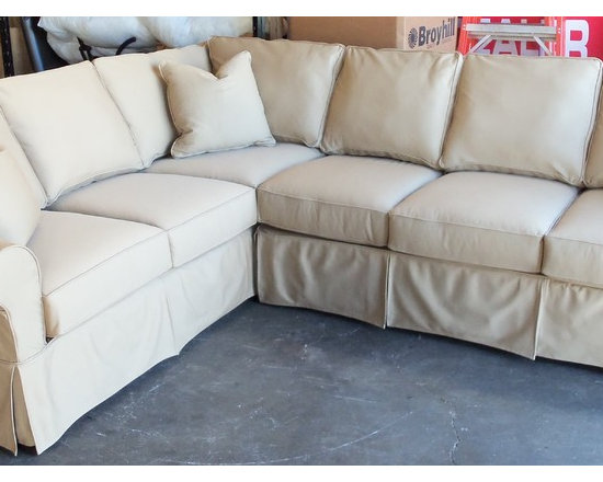 Customer Custom Orders - Rowe Masquerade Slipcover Sectional.  You Choose the Fabric and configuration to fit your room.