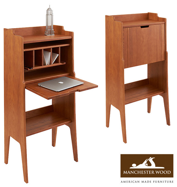Green Mountain Writer's Drop Desk Cabinet by Manchester ...