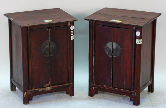 Small Chinese Antique Scholar's Cabinet - Asian - Home Decor - milwaukee - by Silk Road Collection