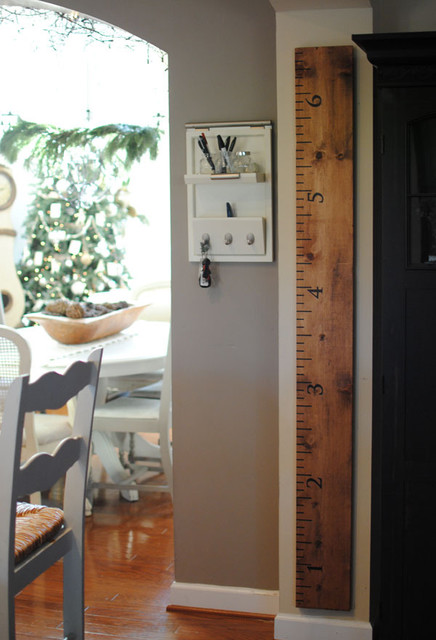 Oversized Ruler Growth Chart traditional-kids-decor