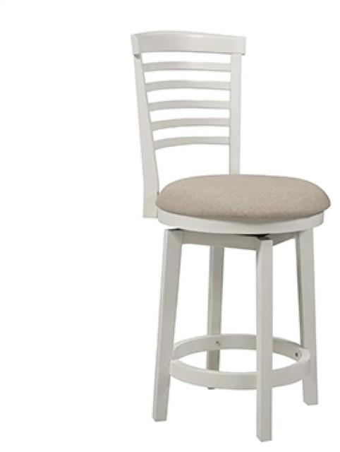 Powell 929 889 Big Tall White Wood Counter Stool Modern Bar Stools