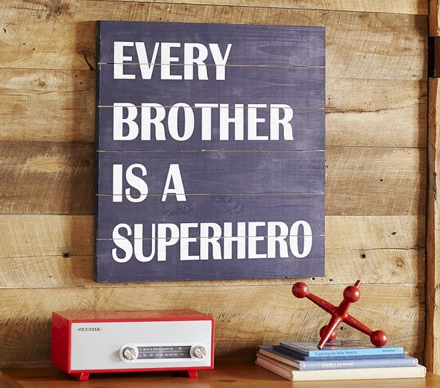 Every Brother Is A Superhero Kids Decor San Francisco