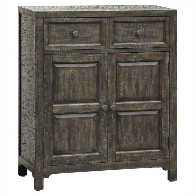 Rustic Foyer Chest : Pulaski accents rustic chic hall chest in parker