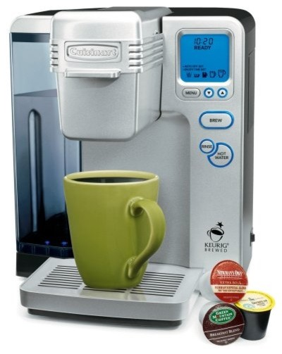 Cuisinart Keurig Brewed SS-700 Single Serve Brewing System with Hot Water System contemporary coffee makers and tea kettles