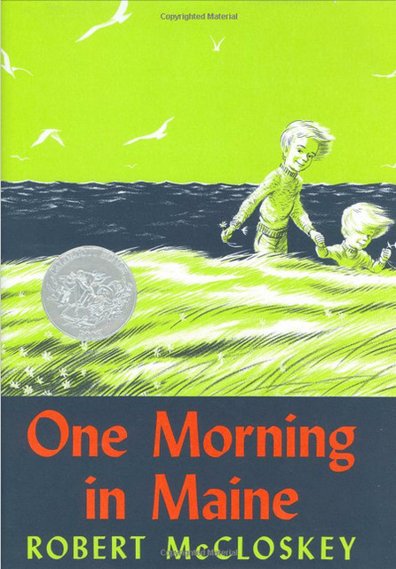 """One Morning in Maine"" Book contemporary-books"