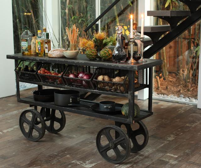 Urban Metal Kitchen Cart: Kitchen Islands And Kitchen