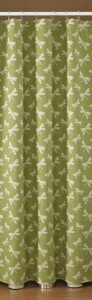 Green Dragonfly Bathroom Shower Curtain traditional-shower-curtains