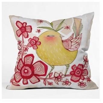 Cori Dantini Sweetie Pie Throw Pillow modern-decorative-pillows