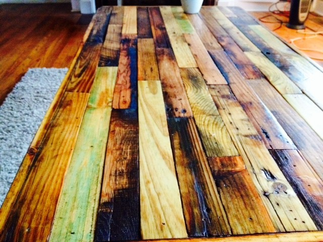 Reclaimed Pallet Coffee Table - Rustic - nashville - by Etheridge ...